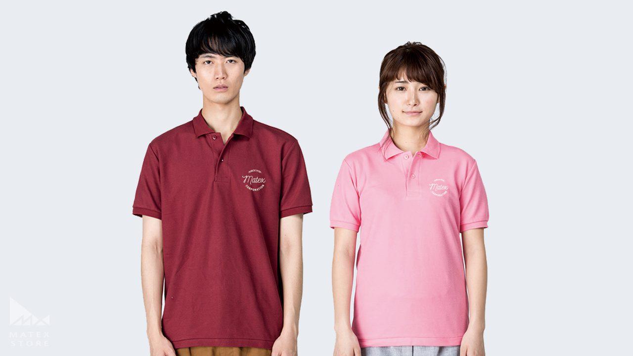 T/Cポロシャツ(ポケット無)