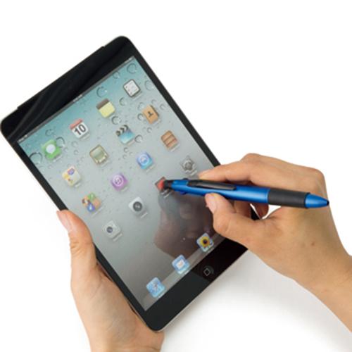 3色ボールペン+タッチペン タッチペン サイズ感