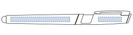 スマホスタンドタッチペン グレー デザインスペース