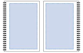 リサイクルA5リングノート デザインスペース