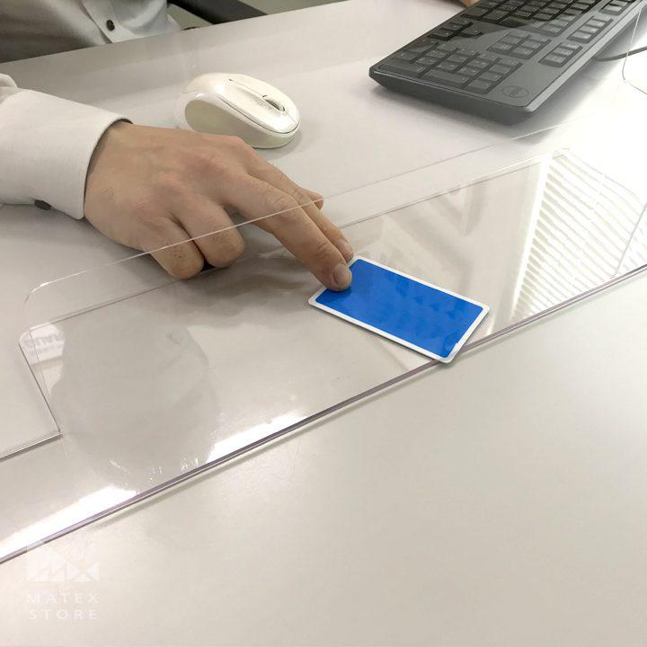 飛沫防止対策用 G-PETパーテーション 広く使いやすい窓口