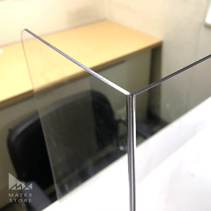 飛沫防止対策用 G-PETパーテーション 折り曲げるだけの簡単設置
