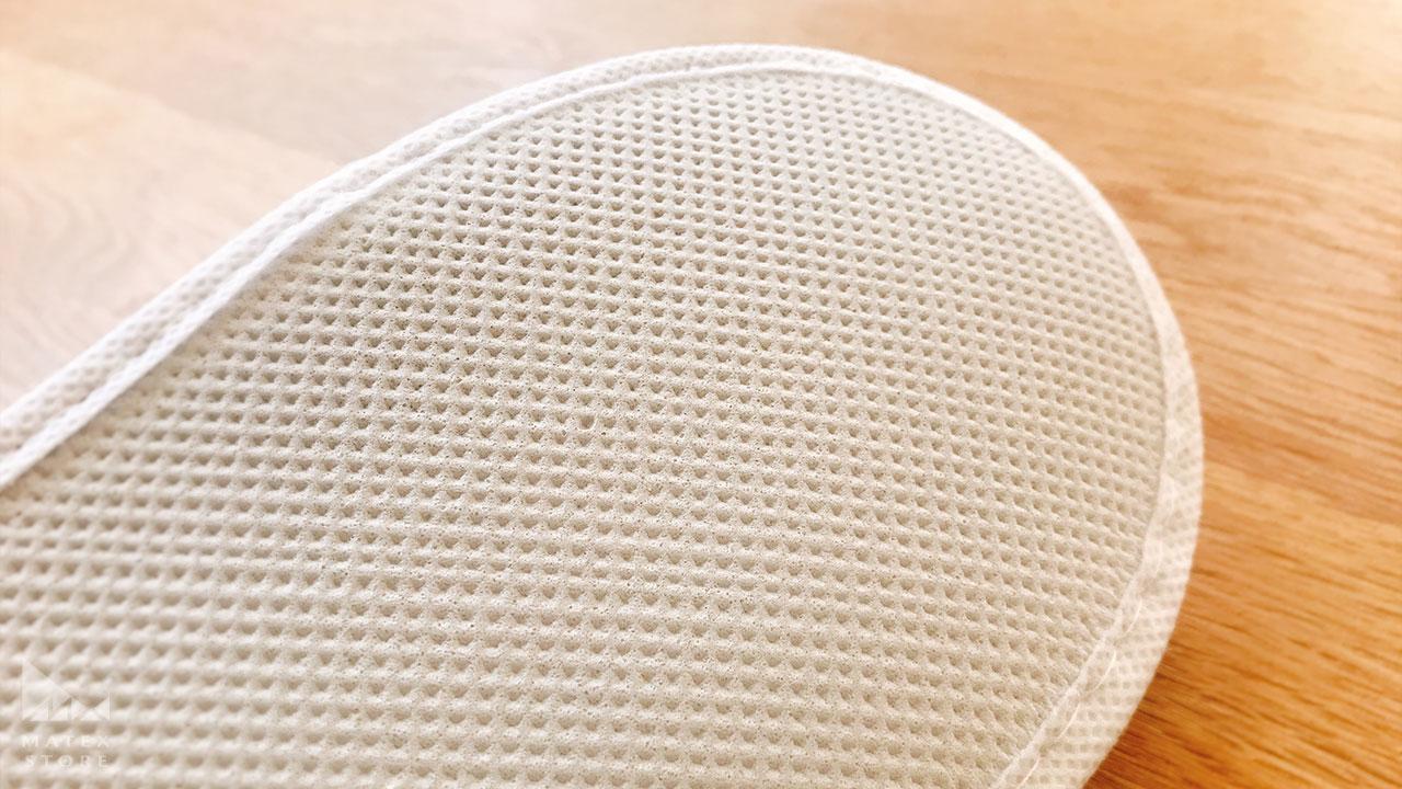 EVA樹脂でできた凹凸が滑りにくくする 使い捨てスリッパ レギュラー